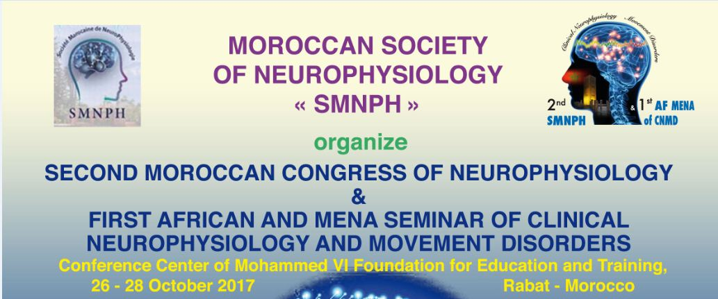 """[""""Moroccan Society of Neurophysiology""""]"""